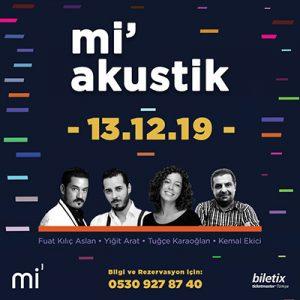 mi'Akustik – 13.12.2019