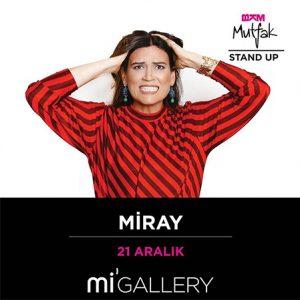 Miray – Stand Up- 21.12.2019